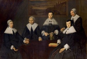 Frans Hals - De regentessen van het oudemannenhuis (1664)