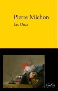 Boekomslag Pierre Michon, Les Onze
